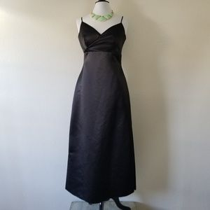 BILL LEVKOFF Classics Black Empire Dress 10 (NWOT)